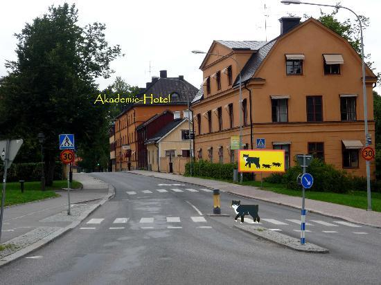 Akademihotellet: Ansicht Straßenseite