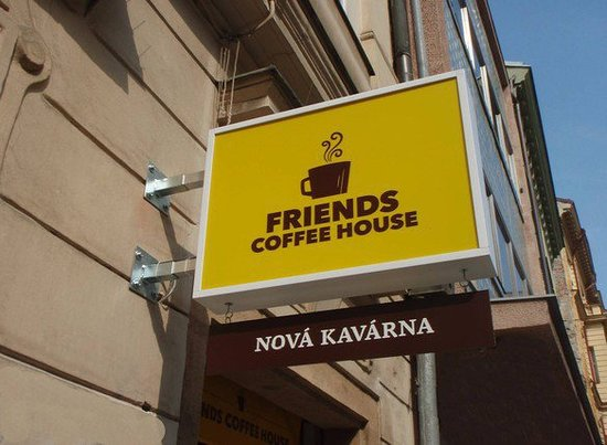 ‪‪Friends Coffee House‬: Friends Coffee House Prague warmly welcomes you !‬