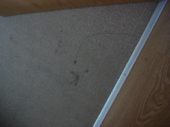 The B Suites Glasgow City Centre: Bedroom carpet