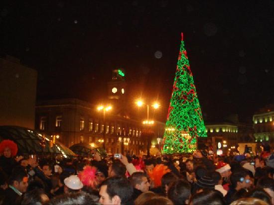 Nochevieja en la Puerta del Sol
