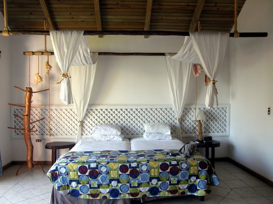Hotel Villa Caribe : chambre du bungalow