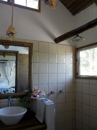 Hotel Villa Caribe : salle de bain du bungalow