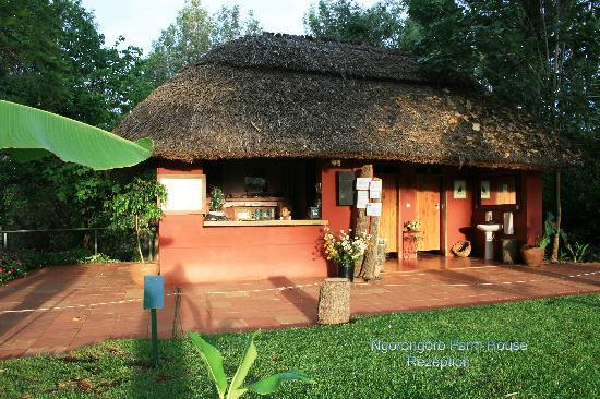 Ngorongoro Farm House, Tanganyika Wilderness Camps: Rezeption