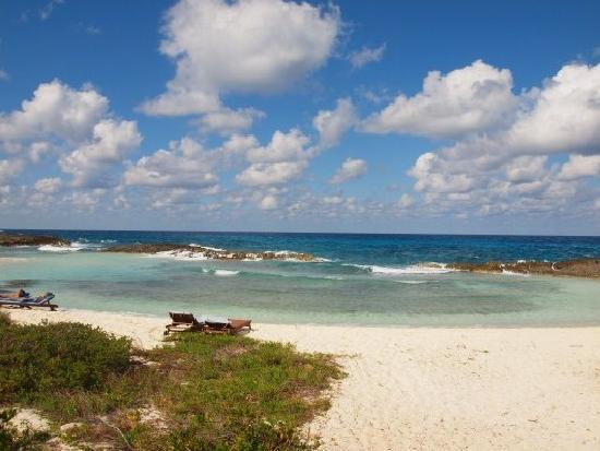 Melia Buenavista: Logoon beach