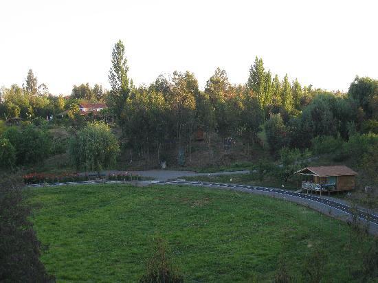 jardines y parcela , casa chueca