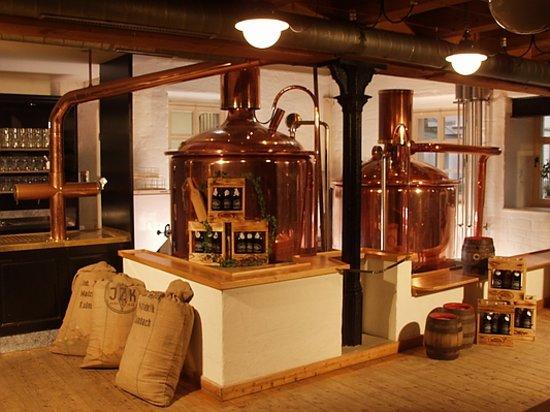 Kulmbacher Kommunbrau e.G. Reale Bierwirtschaft: Das Sudhaus
