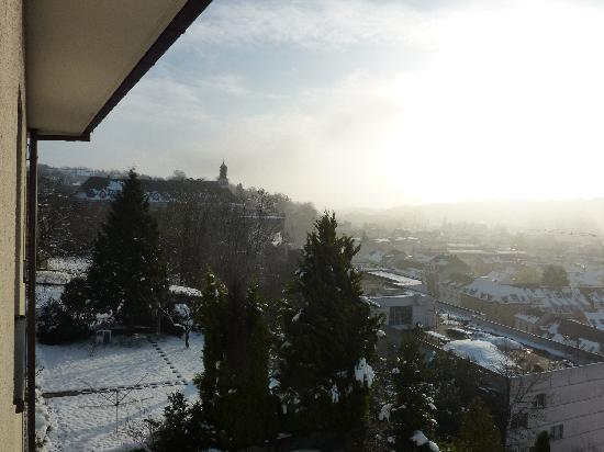 Hotel Bruchsal Scheffelhoehe: Blick aus dem Zimmer