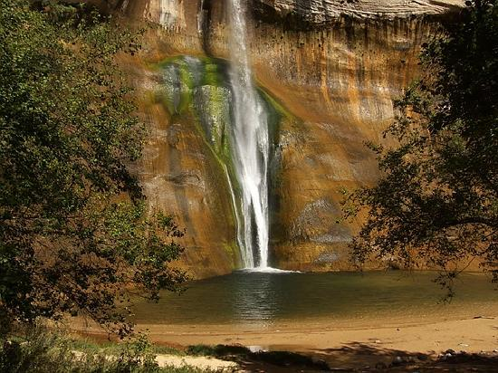 Grand Staircase Escalante National Monument: Lower Calf Creek Falls