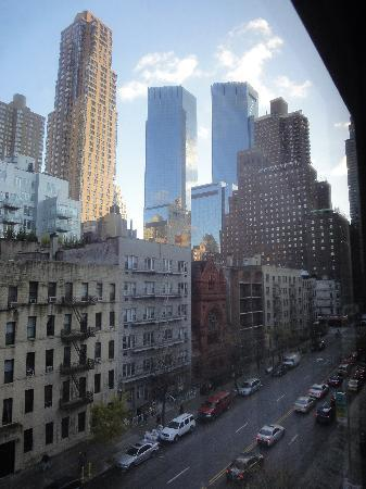 Holiday Inn Midtown / 57th St: Sicht aus dem Hotelzimmerfenster