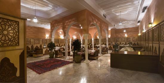 Alhambra Thalasso Hotel: Restaurant marocain 1