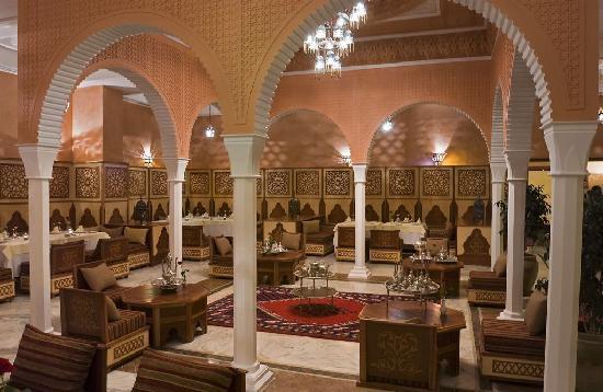 Alhambra Thalasso Hotel: Restaurant marocain 2