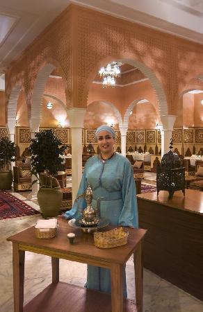 Alhambra Thalasso Hotel: Restaurant marocain