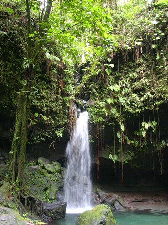 Roseau, Dominica: Emerald Pool