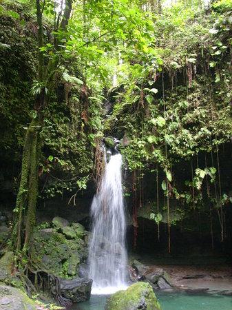 Розо, Доминика: Emerald Pool