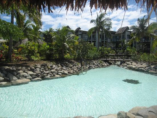 Radisson Blu Resort Fiji Denarau Island : The 'lakes' in the resort