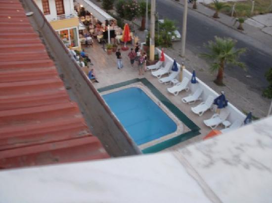 Ekin Hotel: View from the balcony2