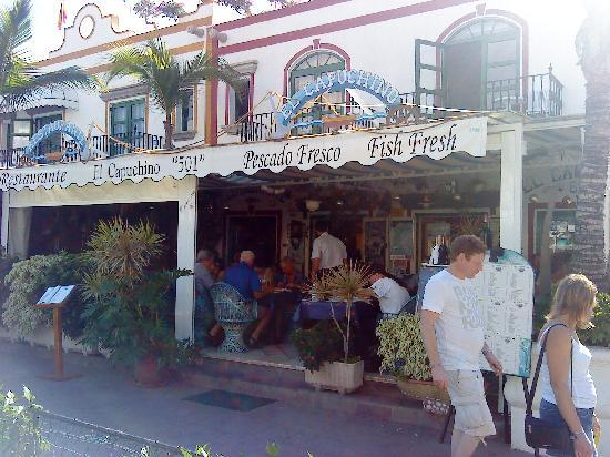 Restaurante El Capuchino 501: Fast picture with my mobile