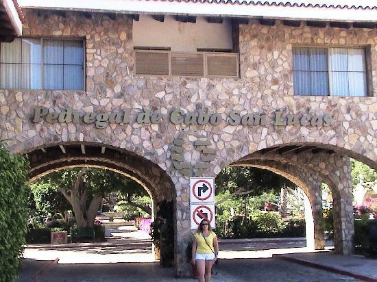 Plaza San Lucas Condominiums: Main Entrance