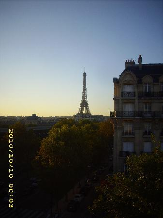 Hotel Duquesne Eiffel : Spectacular view from room 56