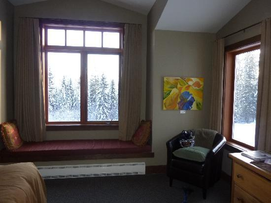 Copper Horse Lodge: View from the room