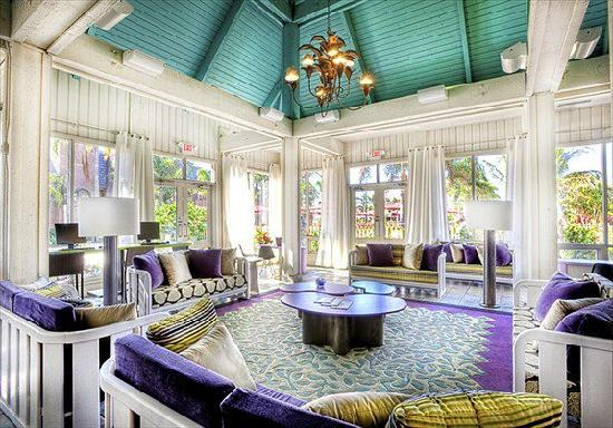 Club Med Sandpiper Bay: A shot of our reception area