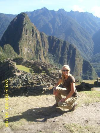 shawna at Machu Picchu