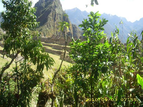 Machu Picchu, Pérou : Beautiful view