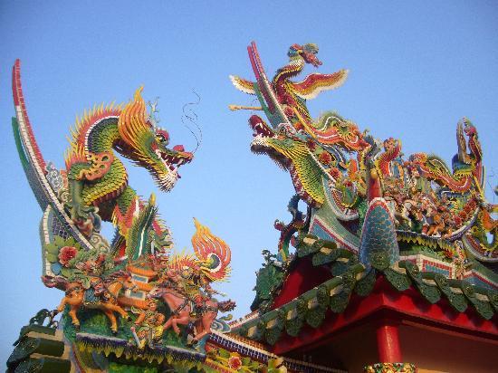Tojinbaka: 装飾がとても見事です。