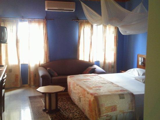 Ndola, Zâmbia: Mukuba Hotel room