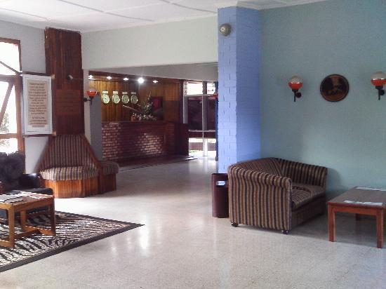 Ndola, Zâmbia: Hotel reception