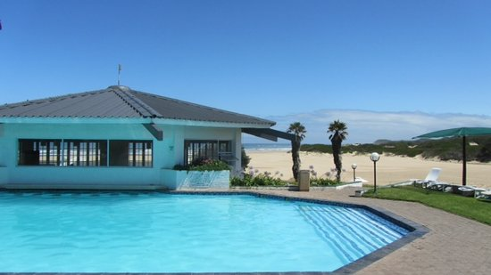 Port Alfred, Sør-Afrika: View of pool