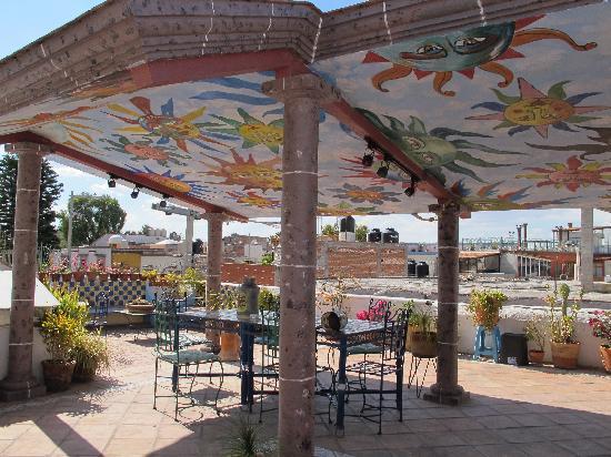 Casa de los Soles: terrace