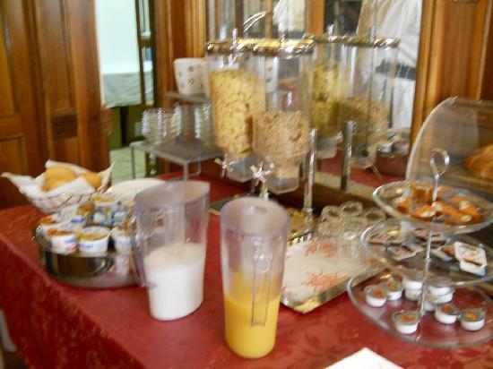 Hotel Guerrini : dejeuner