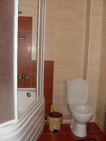 Villa Muntenia Hotel: bathroom with jacuzzi