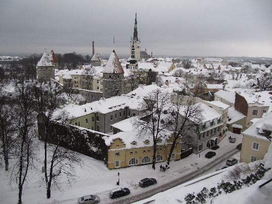 Tallink City Hotel : Tallinn en Janvier