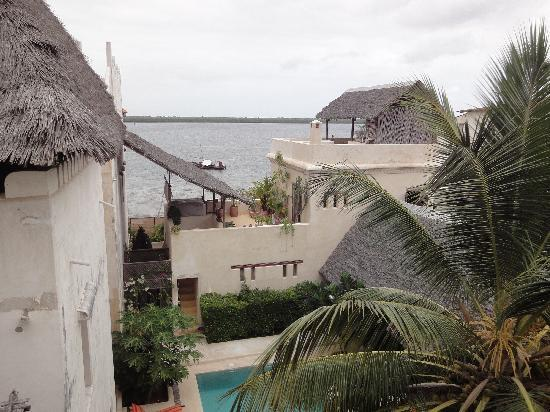 Lamu House Hotel: View from the top rooms