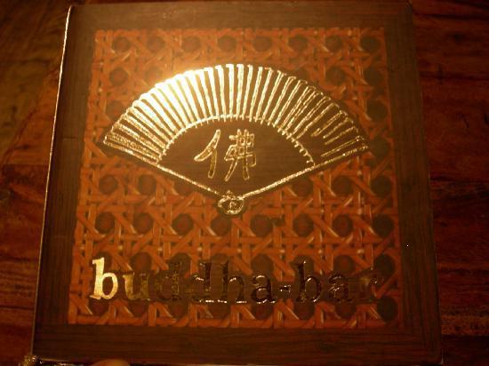 Buddha Bar : menu