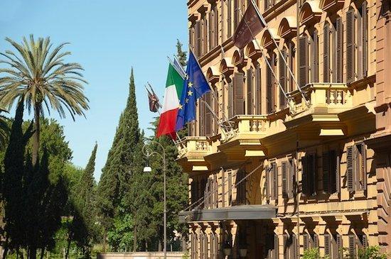 Sofitel Rome Villa Borghese: Hotel Façade