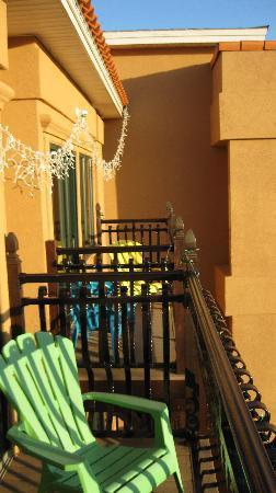 Ocean Inn and Suites : Balcony