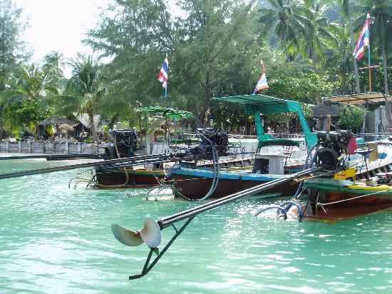 CoCo Cottage Koh Ngai: CocoCottage Pier