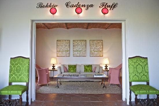 Fontelunga Hotel & Villas : TV Room
