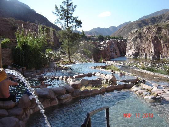 Hotel & Spa Termas Cacheuta: Vista panoramica