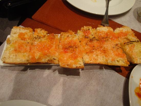 Sagarra : pane e pomodoro