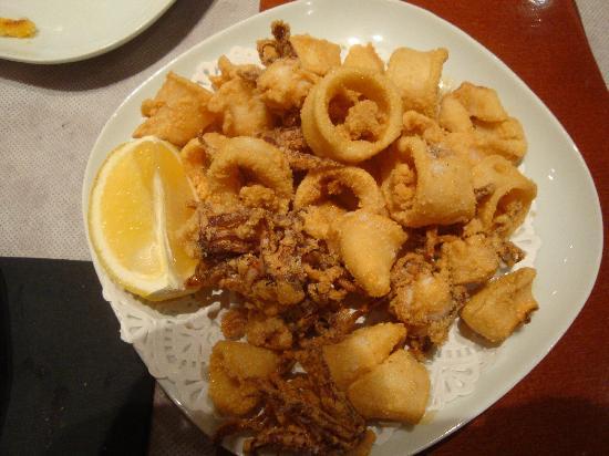 Sagarra : la frittura di pesce