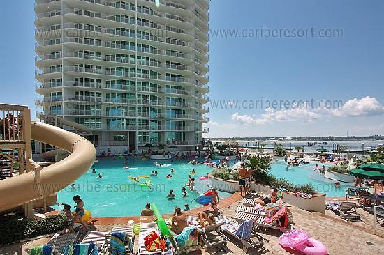 Caribe Resort Pool Deck 3