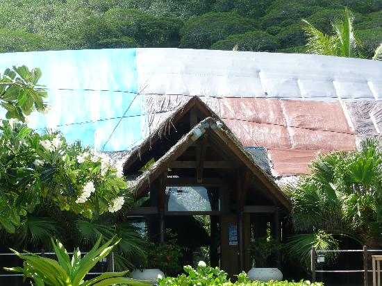 Bora Bora Beach Resort : toit principal