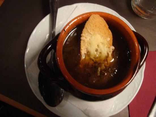 Restaurante Xaloc : la zuppa di cipolla