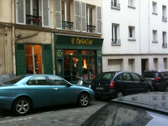 Photo of French Restaurant Le Baratin at 3 Rue Jouye Rouve, Paris 75020, France