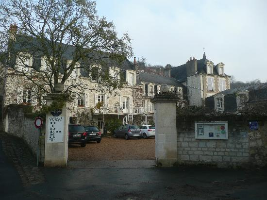 Chinon, Frankrike: The Hotel Diderot