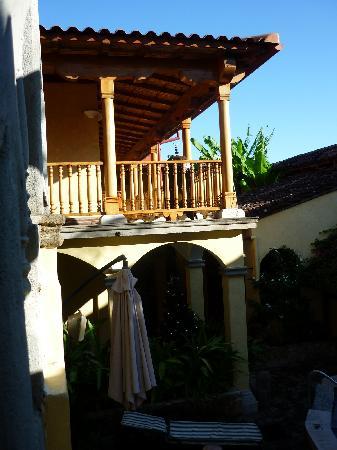 Hotel Colonial: baranda